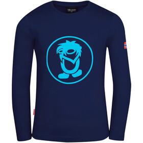 TROLLKIDS Troll Longsleeve Shirt Kids navy/medium blue